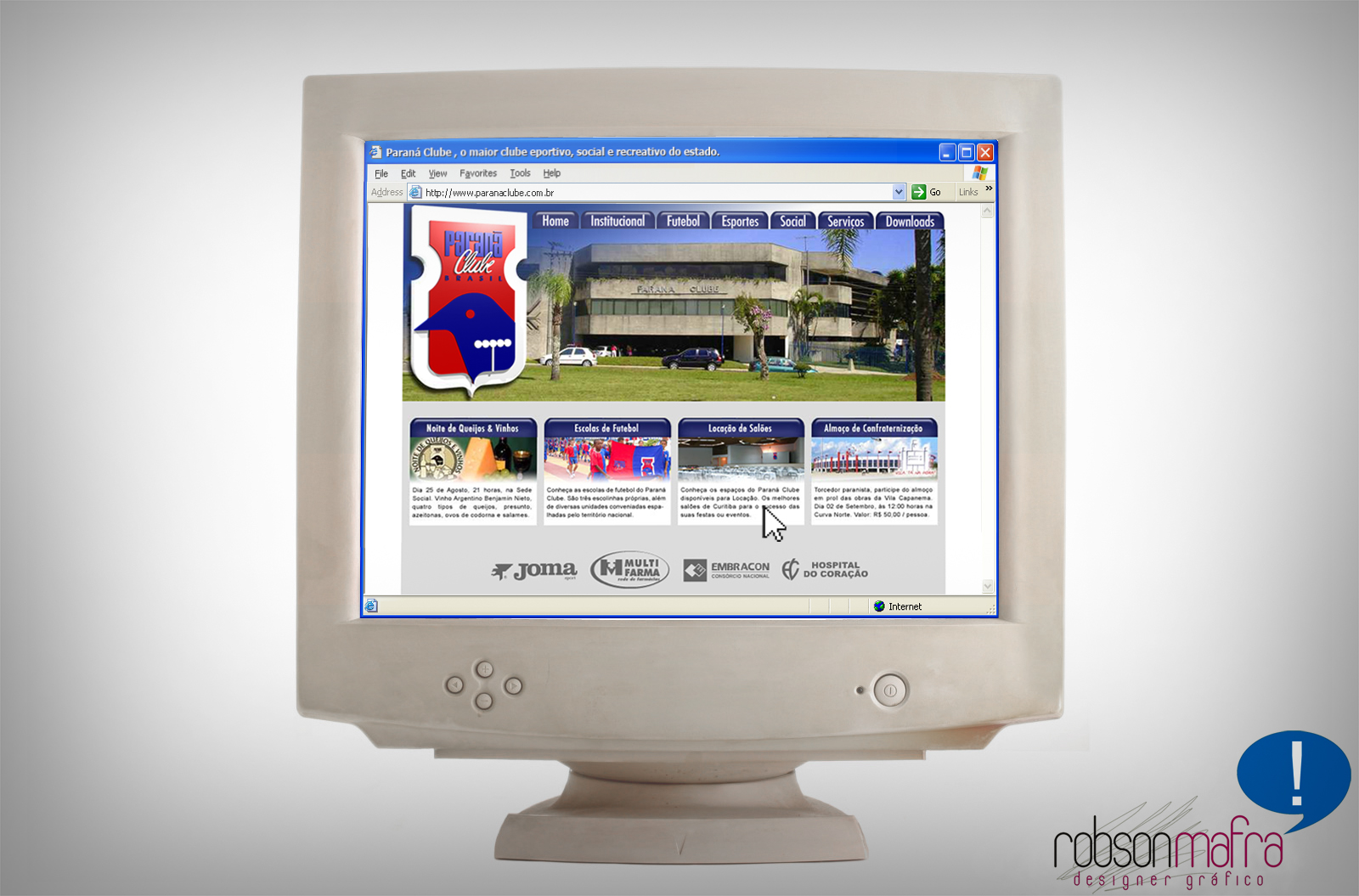 Novo Site Paraná Clube 2006